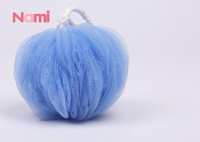Colorful Soft Shower Bath Sponge Exfoliating Rough Surface Eco - Friendly